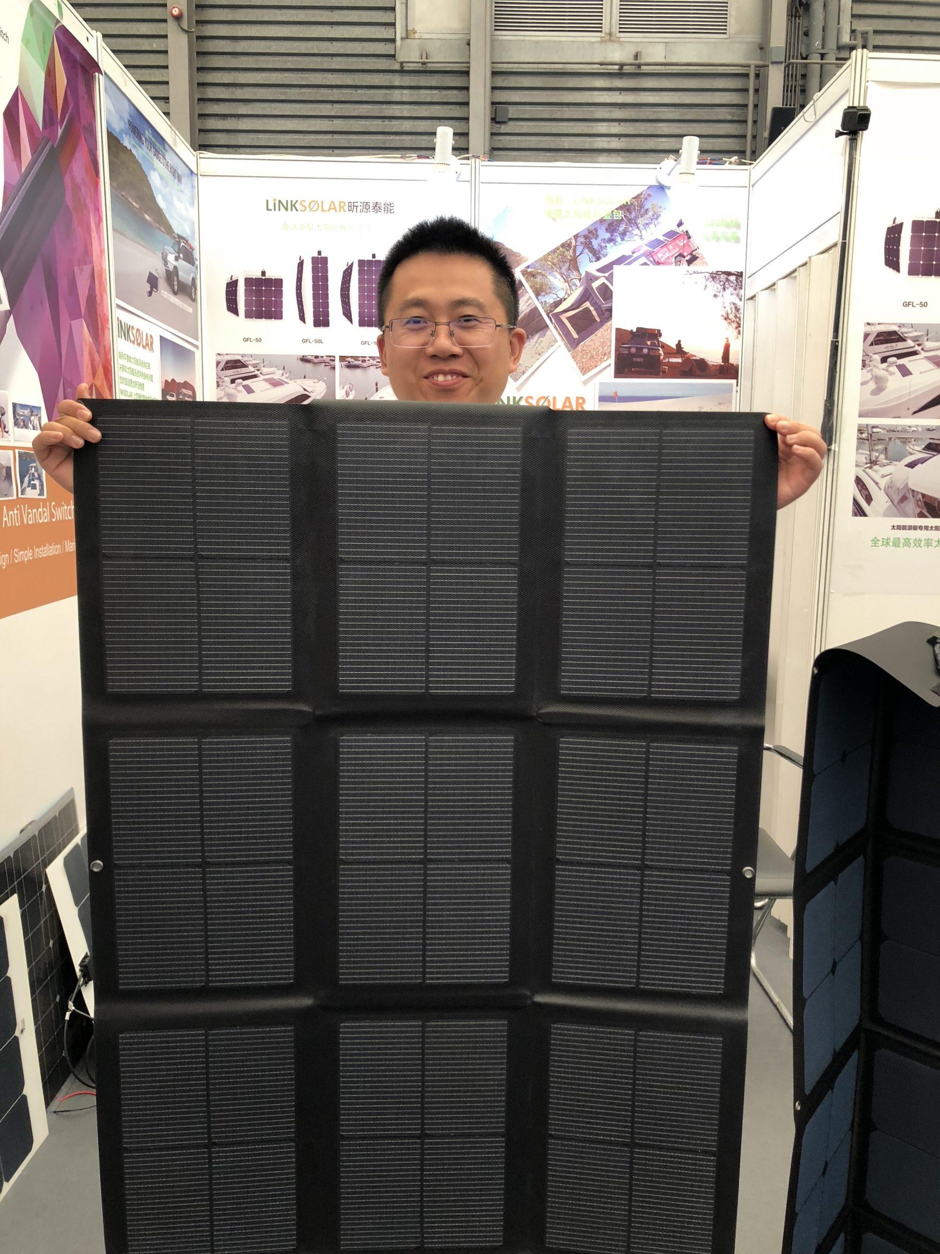 Foldable Marine Solar Panels