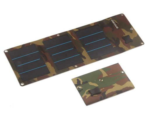 High-efficiency Flexible Solar Panel for Camping