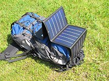 Lightweight Amorphous solar panel portable solar charger for camping