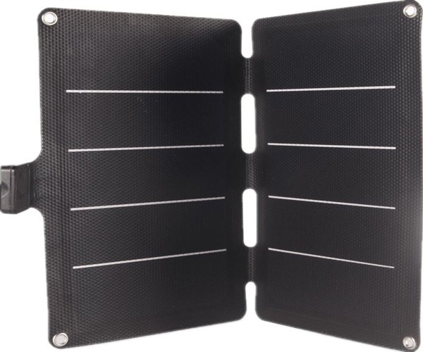Sunpower portable solar charger for phone