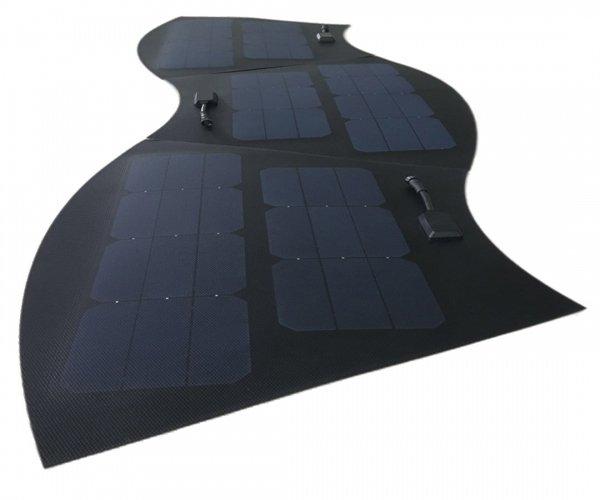 The Very Flat LinkSolar Flush Power Cable Flexible Solar Panel