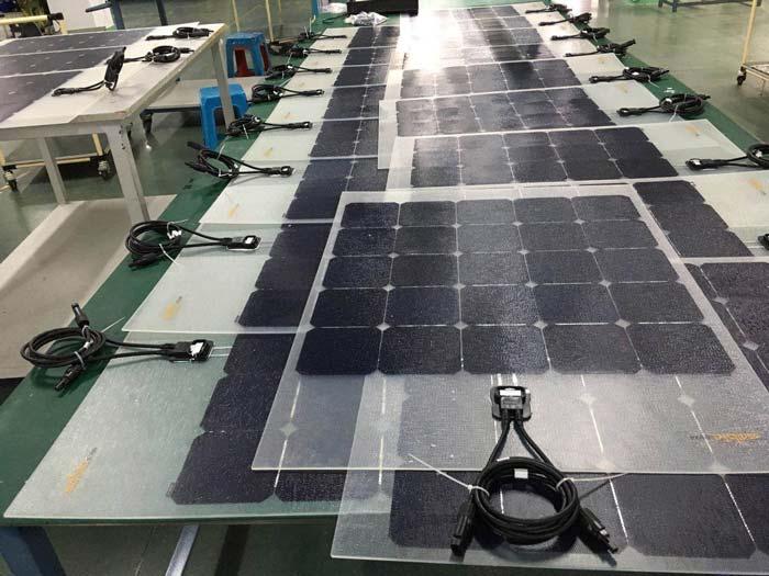 LINK SOLAR Flexible solar panel