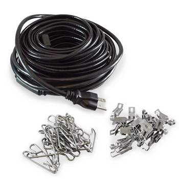 Outdoor Snow Melting Cable and Mat