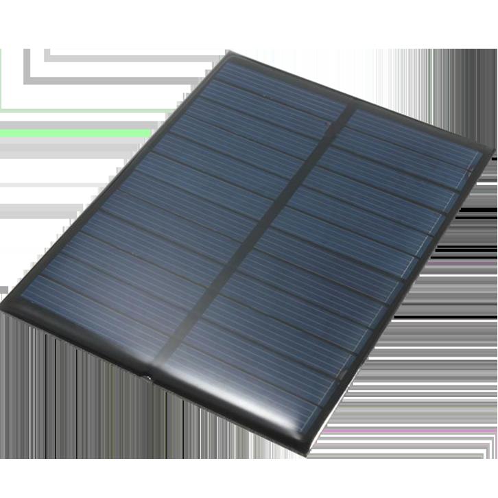 Pet&Expoxy solar panel 1.1W 6V