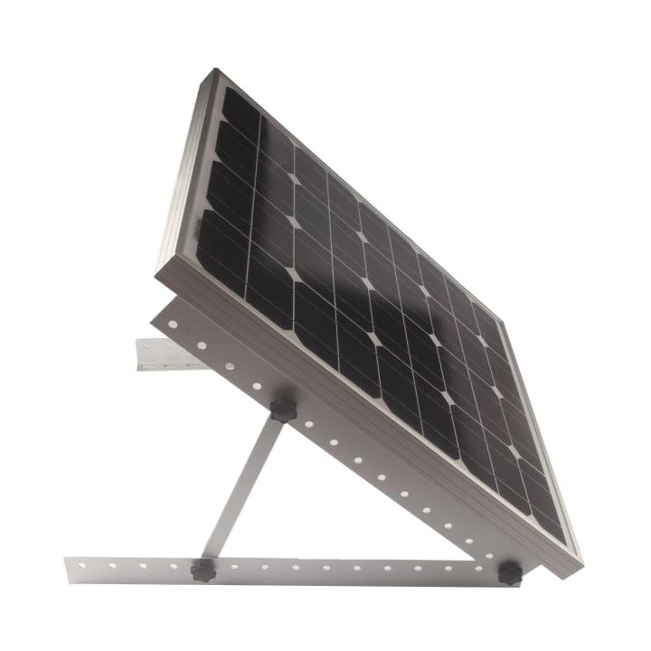 Adjustable Solar bracket RV rack stand on ground Folding Tilt legs 22inch Solar Bracket. LS-AL-F2.