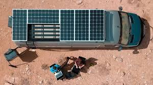 Motorhome Solar Panels