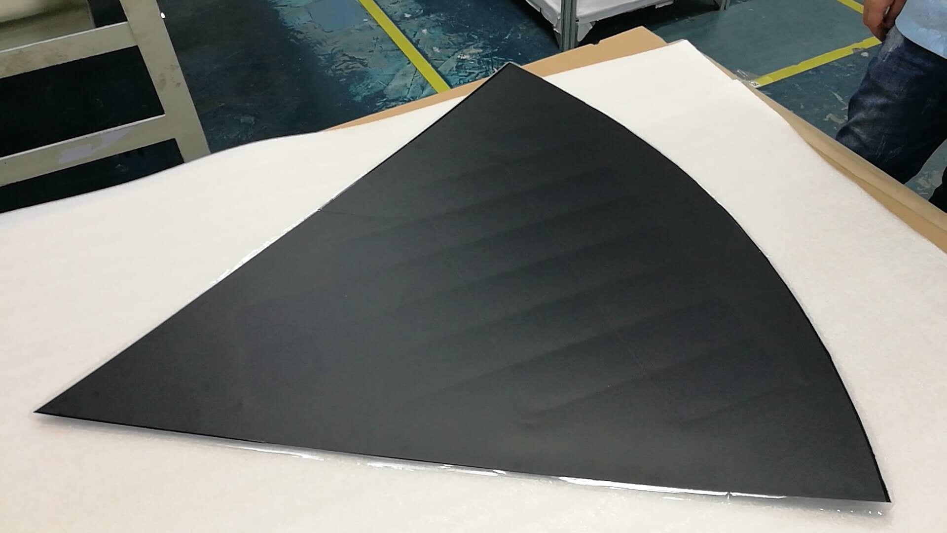 customized shape caravan solar panel