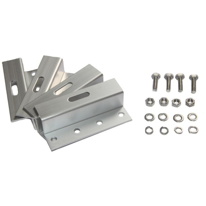 Aluminum Z type 100mm Bracket