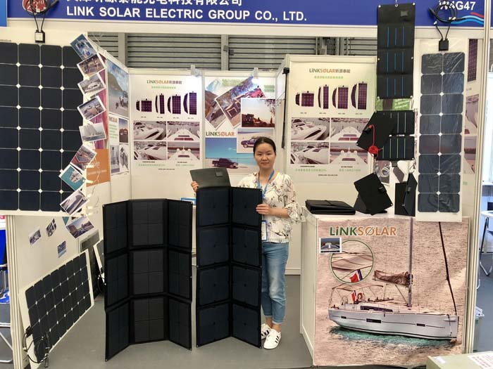 LinkSolar camping solar panel