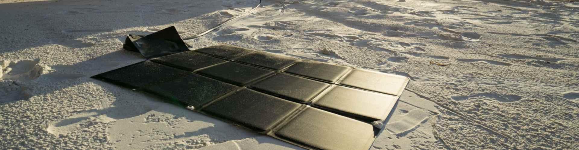 flexible solar panel for travel