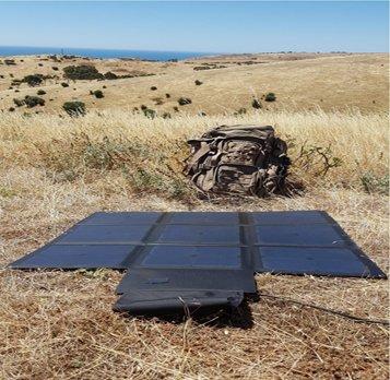 Custom Portable Folding Solar Panel