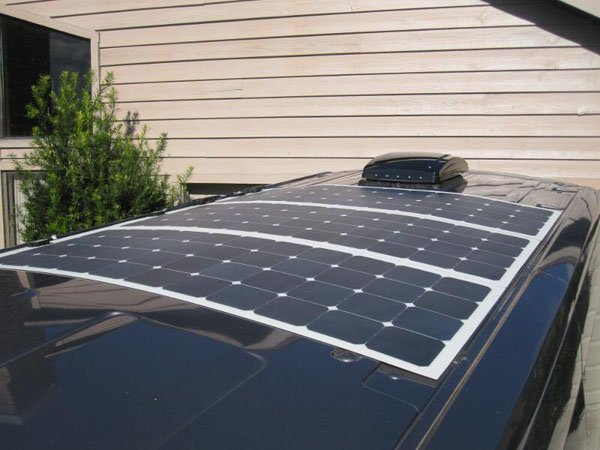 Flexible Solar panel for solar car charging