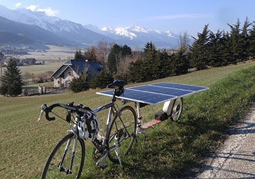 solar bike race